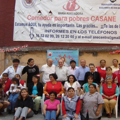 Social work alumni salesians Mexico