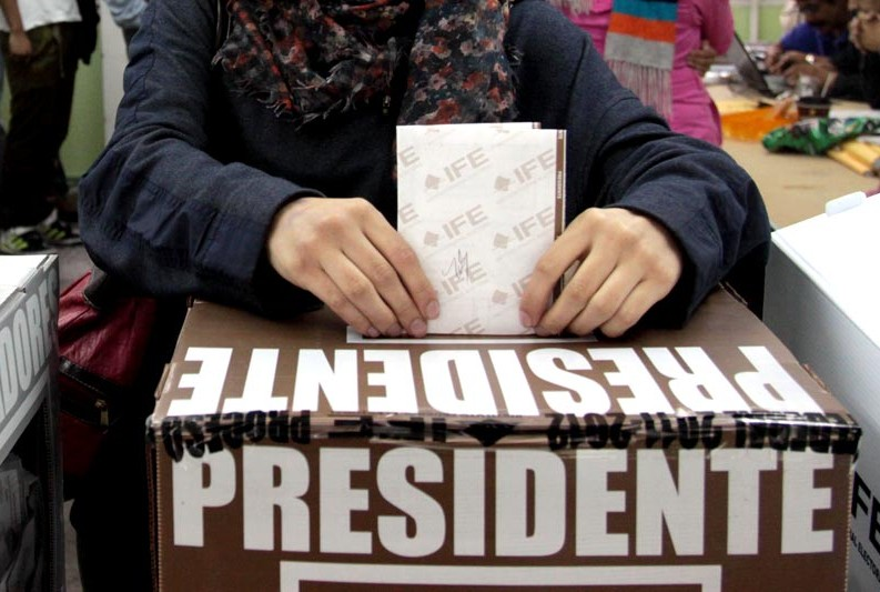 Elecciones Presidente OMAEC abril 2016