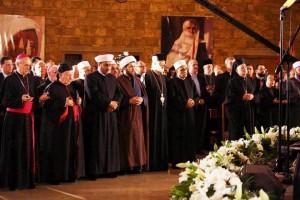 Le rang des officiels religieux - REPRESENTANTES RELIGIOSOS- RELIGIOUS REPRESENTATIVES