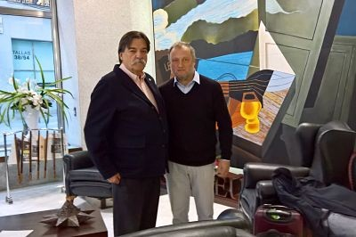 MEETING IN MADRID, SPAIN, BETWEEN THE SECRETARY GENERAL OF OIEC AND THE CHAIRMAN OF OMAEC