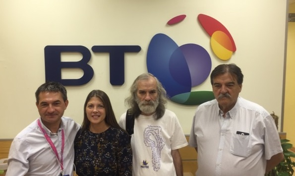 BT SPAIN DONATE SOLIDARITY MATERIAL/OMAEC