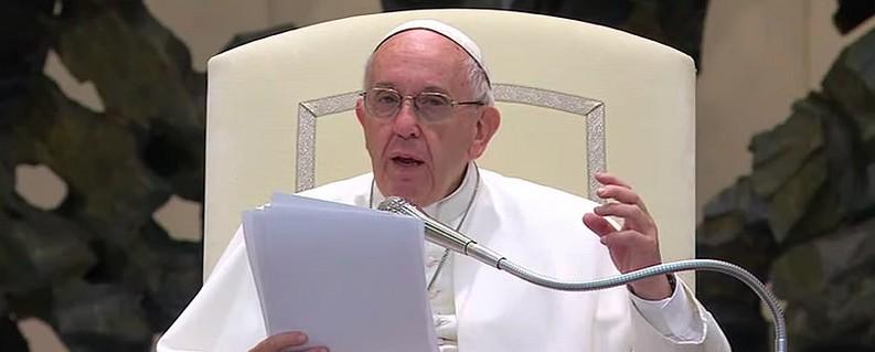 Les mots du Pape François aux ONGs d'inspiration catholique pendant le Forum de Rome 2017, avec la participation de l'OMAEC