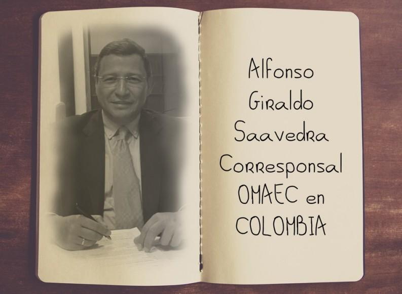 Corresponsal OMAEC en Colombia