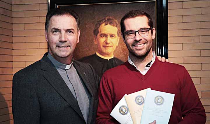 Anciens élèves Don Bosco – Salutacions du président