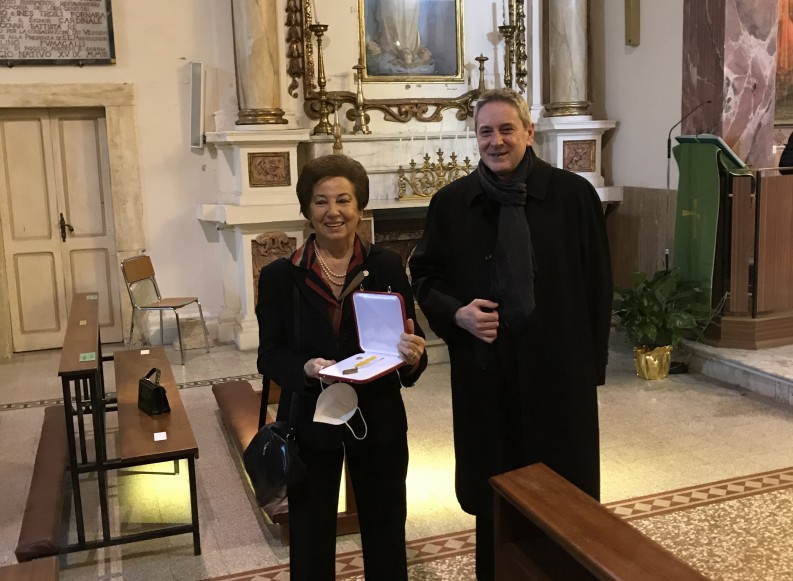 Mrs. Federica Rossi – CROCE PRO ECCLESIA ET PONTIFICE