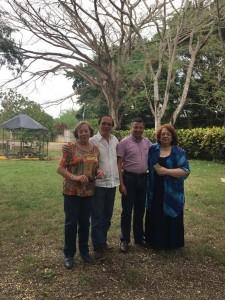 Santo Domingo , República Dominicana reunión de Unaec América febrero 2019