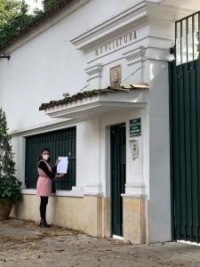 Entrega de carta en Nunciatura Apostolica de Colombia