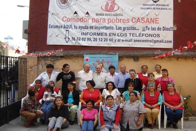 Salésienne anciens élèves travail social – Mexique