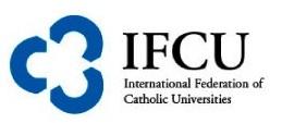 IFCU Internationa Federation of Catholic Universities