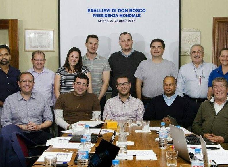 2ª reunión Confederación Mundial Exalumnos de Don Bosco (Presidencia)