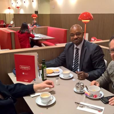 Madrid-Spain, brief meeting