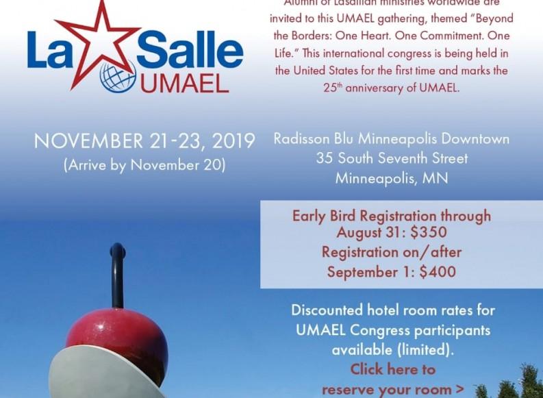 UMAEL -La Salle – next 7th World Congress
