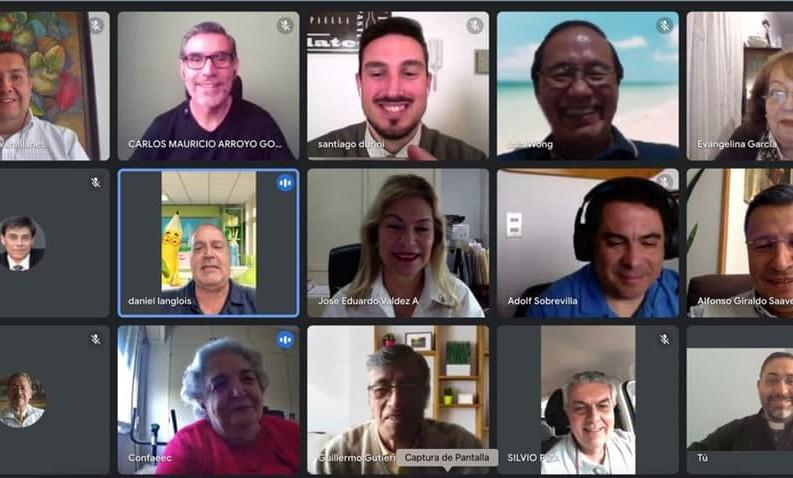l'UNAEC-America a accueilli virtuellement les 5 nouveaux correspondants